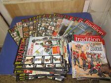Lot de 6 num��ros de tradition magazine au choix, liste des numéros dans annonce