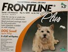 Frontline Plus for Small Dogs Up To 10kg 3/6 Pack 100% Authentic ✰Free Shipping✰