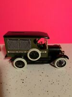 LIBERTY 1916 STUDEBAKER PANEL DELIVERY TRUCK US MAIL DIE-CAST METAL BANK