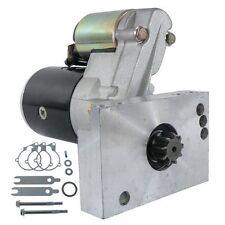 SBC Chevy Mini Starter High Torque Black 3HP 153 168 Tooth 350 400 Small Block 1