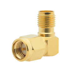 RadioShack 2780010 SMA Right Angle Plug-to-Jack Adapter (IL/PL1-9648-2780010-...