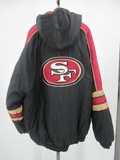 H0567 Starter San Francisco 49ers NFL-Football Hood Windbreaker Jacket Size XL