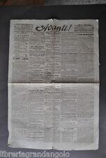 Giornali Avanti Socialismo Sciopero Genova Terni Catania Torino Lavoro 1906