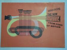 FORD ZEPHYR 4 orig 1962 UK Mkt Sales Brochure