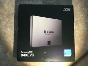 Sealed Box Brand New Samsung 840 EVO 250GB 2.5 Solid State Drive