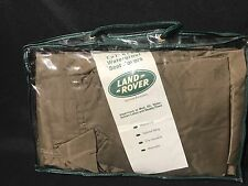 Full Set of Land Rover Range  Front and Rear Seat Covers Tan GENUINE Waterproof