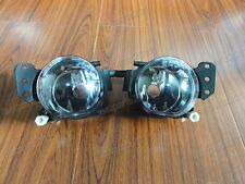 Clear Fog Spot Lamps Pair For BMW 5-Series E60 2004-2008