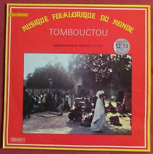 MAURICE BITTER TOMBOUCTOU   LP ORIG FR MUSIQUE FOLKLORIQUE DU MONDE