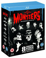 Universal Classic Monsters: The Essential Collection [Blu-ray Box Set] 8 Movies