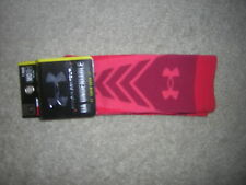 NWT Under Armour UA Undeniable Men Crew Socks  Red  Medium Men's 4- 8 1/2