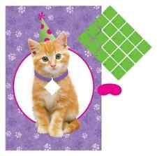 Cuddly Kitten Kitty Cat Pet Animal Cute Birthday Party Activity Pin Board Game