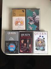 5 queen albums on cassette tape
