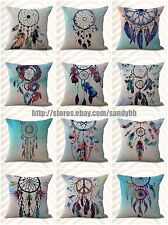 US Seller-10pcs cheap throw cushions cushion covers American native dreamcather