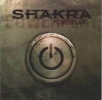 SHAKRA - POWERPLAY (2013) RARE CD Jewel Case by Fono Music+FREE GIFT Heavy Metal
