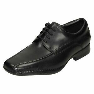 Hombre Clarks Leather Zapatos de Vestir con Cordones Ajuste G FRANCIS LACE