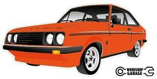 Ford Escort RS2000  MK 2 - 2Door - Orange