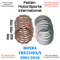 Honda ATC250SX Clutch Kit Heavy Duty Discs Disks Springs Gasket ATC 250SX 85-87