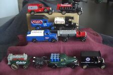 DIE CAST METAL REPLICA CAR BY CHEVRON FROM THE 1990'S LOT OF (9) NO BOX ENGLAND