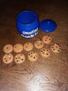 Learning Resources Counting Cookies Maths Children Educationional Toy Vintage