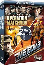 41152 //COFFRET 2 BLU RAY GUERRE OPERATION MATCHBOX + TIME BOMB BLU RAY NEUF