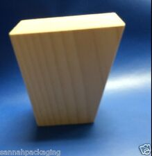 "Lot Of 8 Tapered Birch Furniture Leg/Feet  4-1/4"" High Unfinished"