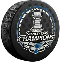 St. Louis Blues 2019 NHL Stanley Cup Champions Souvenir Hockey Puck