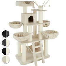 Arbre à chat chaton griffoir design original grand jouet grattoir haut 1 cabane