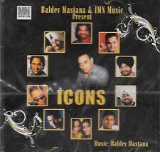 ICONS - BALDEV MASTANA - BRAND NEW BHANGRA CD - FREE UK POST