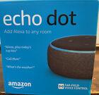 Amazon Echo Dot (3rd Generation) Smart Speaker - Charcoal/Black, New In Box