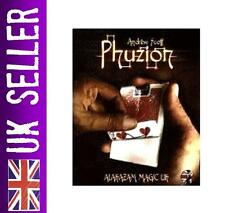 PHUZION magic card trick + DVD close up Andrew Scott (NEW & SEALED)