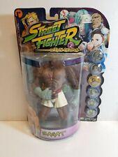 Resaurus Street Fighter Action Figure Sagat Player 2 White Shorts Factory Sealed