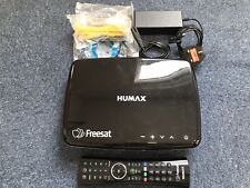 HUMAX HDR-1100S 500GB HDD Freesat HD TV Smart Recorder in Excellent Cond. Black