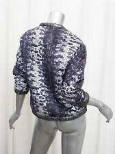 ISABEL MARANT x H&M Womens REVERSIBLE Metallic Silver+Purple Jacket 2/XS NEW NWT