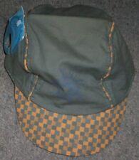 Casquette enfant vert kaki orange 6-12 mois 47cm
