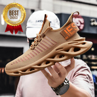 Men's Casual Sneakers Lightweight Sports Running Shockproof Breathable Shoes