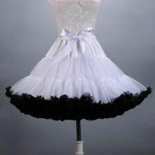 Cosplay Tutu Skirt Petticoat Chemise Petti Skirt Crinoline Fluffy Dance Red Haih