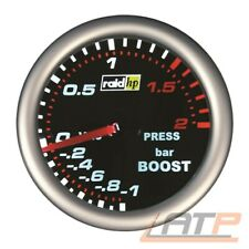 RAID HP NIGHT FLIGHT LADEDRUCKANZEIGE TURBOLADER TURBO BORDINSTRUMENT 2BAR