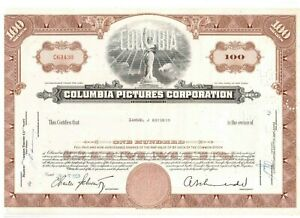 Columbia Pictures Corporation  1968