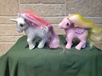 My Little Pony Lot of 2 1984 Vintage Made In Hong Kong