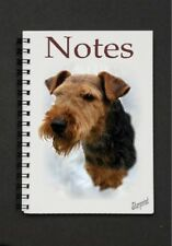 Welsh Terrier Dog Notebook/Notepad with a small image on every page by Starprint