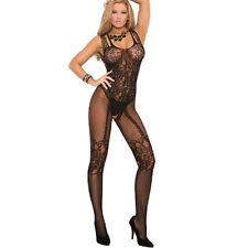 Sexy Women's Fishnet Open Crotch Body Stocking Bodysuit Nightwear Bra Lingerie P