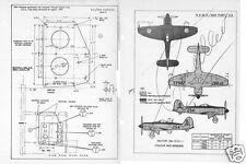HAWKER SEA FURY 1950's HISTORIC SERVICE MAINTENANCE ORDERS SCHEDULE RARE Navy