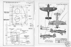 HAWKER SEA FURY 1950's SERVICE MAINTENANCE ORDERS SCHEDULE RARE HISTORIC Navy