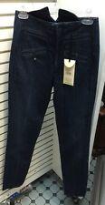 "NWT TWENTY8TWELVE Blue Cotton Dark Jeans Sz 27 Inseam 32"" Daisy  Washed In Italy"