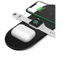 3 in1 Qi Wireless Charger For Apple Watch iPhone for AirPods Stand Fast Charging