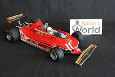 Exoto Ferrari 312T4 1979 1:18 #11 Jody Scheckter (RSA) with figurine (PJBB)