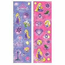 Disney Princess Rapunzel Sticker Fun Favors - 8 Pack