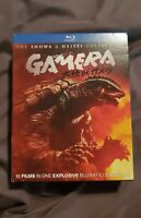 Gamera: Showa & Heisei 11-MOVIE HD BLURAY Collection 4-DISC SET NEW RARE, OOP!
