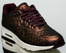 d265e7353e1e Nike Air Max 1 Ultra Premium Jacquard Metallic Mahogany Trainers UK 5.5 Us8
