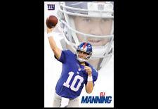 Rare ELI MANNING New York Giants Quarterback NFL Football Action Wall POSTER